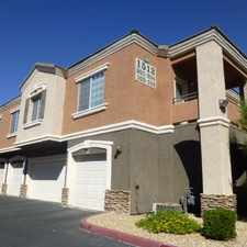 Rental info for GATED 2 Bedroom Condominium NEAR SUMMERLIN With... in the Las Vegas area