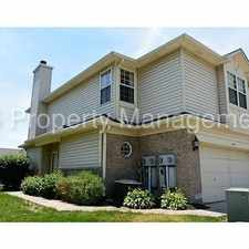 Rental info for Beautiful Large 3 Bedroom 2.5 Bathroom end unit Townhome in Pike Township in the Indianapolis area