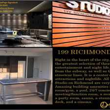 Rental info for 199 Richmond Street in the Kensington-Chinatown area