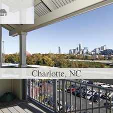 Rental info for LOCATION, LOCATION, LOCATION. Parking Available! in the Charlotte area