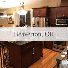 Rental info for Nice Townhome Available For Lease in the Hillsboro area