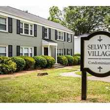 Rental info for 216 Wakefield Drive A in the Charlotte area