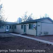 Rental info for 808 Bennett Ave in the Colorado Springs area