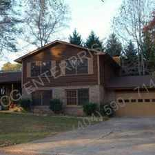 Rental info for Peachtree City Four Bedroom Home For Rent
