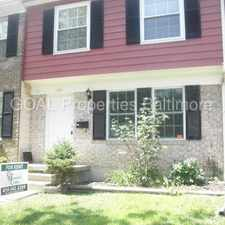 Rental info for 1302 Harford Square Dr- 3 bedroom 2.5 bath townhouse