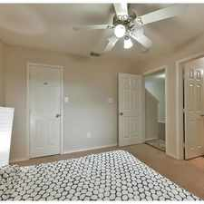 Rental info for Townhouse For Rent In Houston. in the Houston area