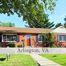Rental info for 5 Bedrooms House In Arlington. Pet OK! in the Williamsburg area