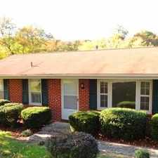 Rental info for 4 Spacious BR In Vinton in the Roanoke area