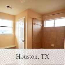 Rental info for Save Money With Your New Home - Houston in the Houston area