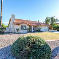 Rental info for 1211 E TODD DR - 3BR 2BA Rural/Elliott - GREAT SINGLE LEVEL HOME WITH PRIVATE POOL! SOLA PANELS - ALL APPLIANCES - CLOSE TO ASU, FREEWAYS, AND RESTAURANTS! THIS ONE IS A GREAT FIND! in the Chandler area