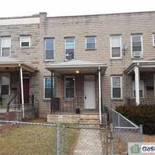Rental info for Completely remodeled home located on Patapsco Avenue in Brooklyn! in the Baltimore area