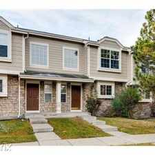 Rental info for 1179 S Waco St D in the Buckley AFB area