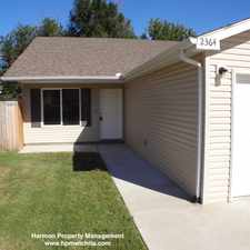 Rental info for 2369 N Garland Ave in the Wichita area