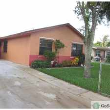 Rental info for Beautiful house wont last !! in the Pompano Beach area