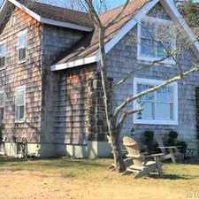 Rental info for 805 Riverside Pine Beach Three BR, This Charming WATERFRONT home