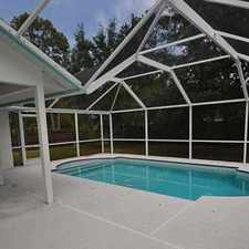 Rental info for Easy To Maintain With Pool And Lawn Care Includ...
