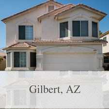 Rental info for 3 Spacious BR In Gilbert. Washer/Dryer Hookups! in the Mesa area