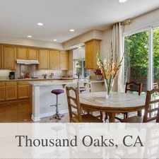 Rental info for Beautifully Maintained Home In Desirable Cobble... in the Thousand Oaks area