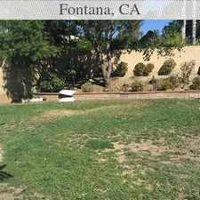 Rental info for This Corner Lot Home In The N/w Heritage Area F... in the Fontana area