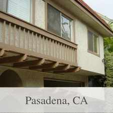 Rental info for This Townhouse Is A Must See! in the Pasadena area