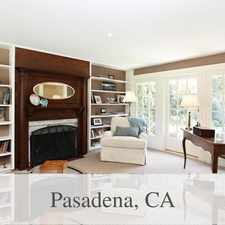 Rental info for Bright Pasadena, 5 Bedroom, 3 Bath For Rent in the Brookside Park area