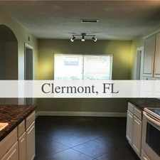 Rental info for Lake Minneola Frontage In Back, Canal Frontage ...