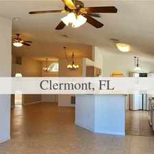 Rental info for House In Prime Location. Washer/Dryer Hookups! in the Clermont area