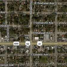 Rental info for House In Move In Condition In Tampa. Washer/Dry... in the Tampa area