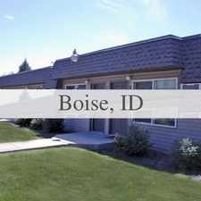 Rental info for This Is A Nice 1 Bed, 1 Bath Apartment Located ... in the Boise City area