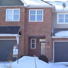 Rental info for 418 Cache Bay in the Gloucester-south Nepean area