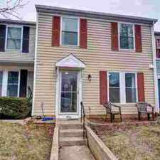 Rental info for 9022 Saint Steven CT Manassas Park, Renovated Three BR Townhome