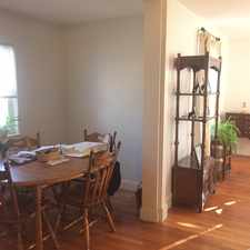 Rental info for Webster St in the West Newton area