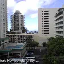 Rental info for 2450 Prince Edward St #1007A in the Honolulu area