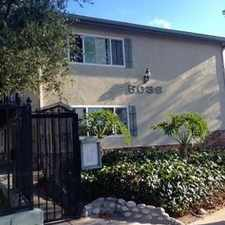 Rental info for 5036 LINDEN AVENUE #6 in the Long Beach area