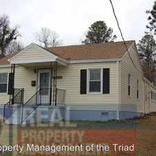 Rental info for 719 S. Holden Rd. in the Greensboro area