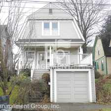 Rental info for 2124 NW Wilson Street in the Portland area