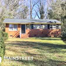 Rental info for 9730 Feldbank Drive in the Charlotte area
