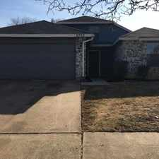 Rental info for 2733 Forest Creek Drive in the Fort Worth area