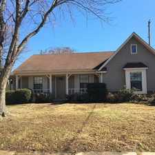 Rental info for 2694 Lakeside Dr. in the Memphis area