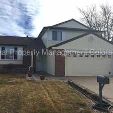 Rental info for 5204 South Richfield Street in the Centennial area