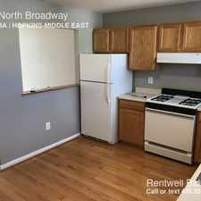 Rental info for 1041 North Broadway in the Baltimore area