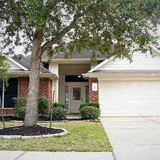 Rental info for Beautiful Single Story Home In Prestigious Cant... in the Pearland area