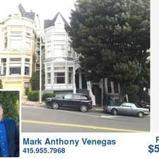 Rental info for 2112 Divisadero St. #LargeVicto in the San Francisco area