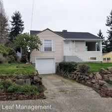 Rental info for 8840 38th Ave SW in the Seattle area