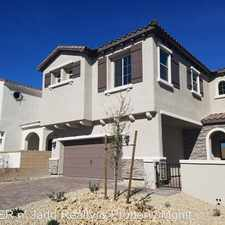 Rental info for 9726 CANYON LANDING AVE