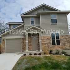 Rental info for 6822 Alsbrook Drive in the San Antonio area