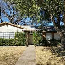 Rental info for 3 bed, 2 bath home in Richardson in the Dallas area