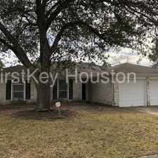 Rental info for 7410 Blanco Pines Drive in the Houston area