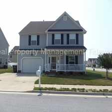 Rental info for BEAUTIFUL SINGLE FAMILY HOME IN SUFFOLK FOR RENT!!! GREAT DEAL!!! in the Suffolk area