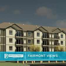 Rental info for Fairmont Views in the Lethbridge area
